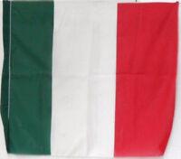 1 BANDIERA d'ITALIA TRICOLORE in TESSUTO cm. 60 X 70 circa