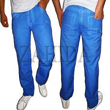 JEEL VAQUEROS Hombre diseñador Pantalón Cargo Estilo Marrón Azul Gris Verano