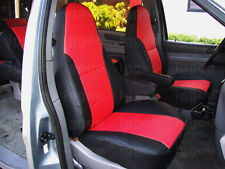FORD WINDSTAR 1999-2003 IGGEE S.LEATHER CUSTOM FIT SEAT COVER 13COLORS AVAILABLE