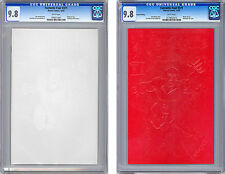 FANTASTIC FOUR #371 -X2- CGC 9.8-9.8 BOTH WHITE & RED EMBOSSED ANNIV COVERS 1992