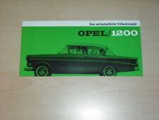 30687) Opel 1200 Prospekt 196?