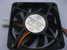 15 pcs Brushless DC Cooling Fan 5V 6010S 11 Blade 3 Wire 60x60x10mm