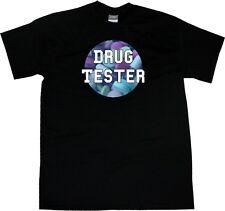 Kings Of NY Drug Tester Funny Pills Graphic Print T-Shirt Tshirt Black White NYC