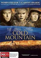 COLD MOUNTAIN - BRAND NEW & SEALED R4 DVD (JUDE LAW, NICOLE KIDMAN, R ZELLWEGER)