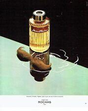 PUBLICITE ADVERTISING 0217  1978   eau toilette Moustache de Rochas