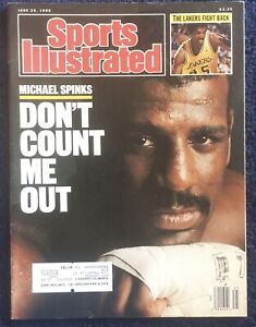 6.20.1988 MICHAEL SPINKS Sports Illustrated Boxing LOS ANGELES LAKERS