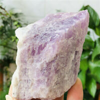 355g Natural Rough Rock Mineral Kunzite Quartz Crystal Raw Stone for decoration