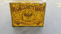 Vintage Russian Tobacco Tin Imperial Czar Tsarist Antique Romanov Beck Chicago