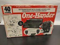Vintage REALISTIC TRC-462 One-Hander CB Radio 40 Channel 21-1528 ~VERY NICE