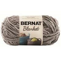 Bernat Blanket Sb Yarn - (6) Super Bulky Gauge - 5.3oz - Dark Grey - Machine -