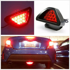 DC12V F1 Style 12-LED Autos Vehicle Triangle Red Low Third Brake Stop Light Lamp
