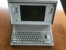 APPLE MAC MACINTOSH BACKLIT PORTABLE M5126 COMPUTER w POWER SUPPLY & CASE
