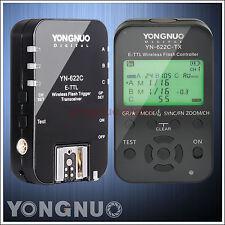 Yongnuo YN-622C-TX + YN-622C Kit Wireless TTL Flash Controller Trigger for Canon
