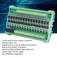 16-Channel PLC Amplifier Board Isolation Relay Board Input Output NPN 12-36V DC