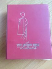 Vintage 1971 The Golden Rule Sewing Book Designing & Cutting Patterns