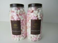 New 2 x Whittard Mini Marshmallows , 230g ea