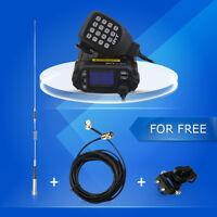 QYT KT-8900D Dual Band 136-174MHz & 400-480MHz 25W 200 Channels Mini Car Radio