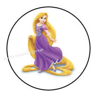 12 Tangled birthday party stickers,round,personalized,shower,tags,label,rapunzel