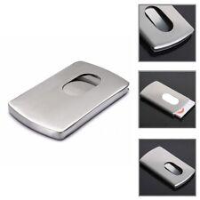 1pcs Mens Wallet Business Stainless Steel Name Credit ID Card Holder Pocket Case