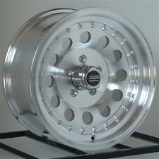 15 inch Wheels Rims Chevy GMC Truck Astro 5 Lug 5x5 American Racing Outlaw II 4