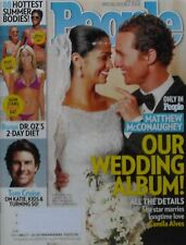 MATTHEW McCONAUGHEYMARRIES CAMILA ALVES  June 2012 PEOPLE Magazine TOM CRUISE