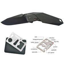 Schrade M.A.G.I.C. Assisted Blade, Black Handle, AUS-8 S w/ FREE Card Multi-Tool
