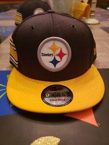Pittsburgh Steelers New Era NFL  2018 Sideline Home  9FIFTY Black Snapback Hat