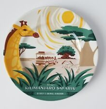"New Disney Parks Animal Kingdom Anniversary Kilimanjaro Safari 7"" plate Sold Out"