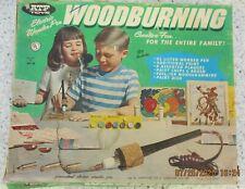 Vintage American Toy & Furniture Co (Atf) Woodburning Kit Model W-3 - Works !