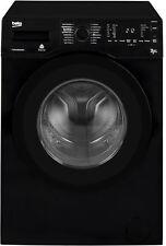 Beko WDR7543121B Standing 7kg 1400 Spin Washer Dryer Black