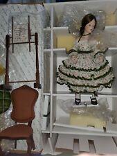 Danbury Mint The Sampler Doll In Box