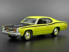1971 71 Plymouth Duster 340 1/64 Scale Collectible Diorama Diecast Model Car