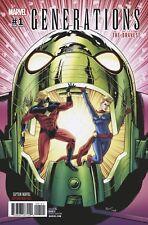 Generations Captain Marvel & Captain Mar-Vell #1 1:25 Schoonover Variant