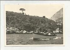 91893 FOTOGRAFIA FOTO ORIGINALE GIRO ISOLA DI CAPRI 1960