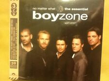 BOYZONE.    THREE. DISCS.    THE. ESSENTIAL.        NO. MATTER. WHAT.