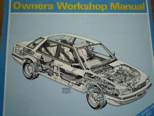 AUSTIN Montego 1984 1989 2.0 NA MG Turbo Owners Workshop Service repair Manual