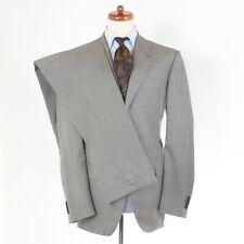 Raffaele Caruso Anzug Suit Gr 52 Super 100s Hahnentritt Houndstooth Made Italy