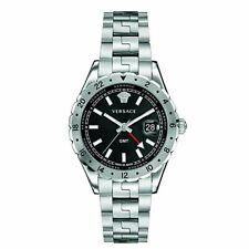 Versace Hombre Reloj Unisex Pulsera Acero Inoxidable Hellenyium Gmt V11020015