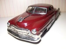 """HUGE 13-1/2"""" long Japan tin friction 1950s """"Fat"""" Cadillac EXCELLENT+++"""