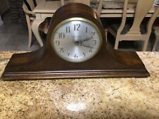 New ListingVintage Sessions Mantle Clock Wood Electric ~Works~ 18� Long 3 3/4 Wide 8 1/2� T
