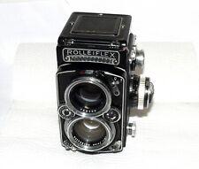 Rolleiflex 2.8E Foto-Kamera Gehäuse Zwillings Objektiv Zeiss 2.8 80 Heidosmat