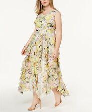 INC INTERNATIONAL CONCEPTS Women's Plus Ruffled Lace Maxi Dress Size 14W