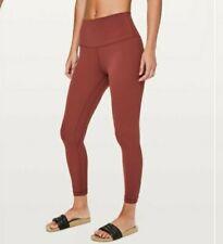"""Lululemon Align Pant II 25"""" Savannah Red Size 10, New Rare"""