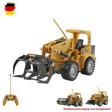 RC Ferngesteuerter Bagger,Bulldozer,Radlader, Baustellen-Fahrzeug mit Akku, 1:24