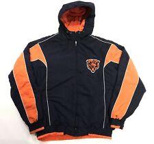 G-III Apparel NFL Chicago Bears Windbreaker Hoodie Jacket Navy Blue M Medium