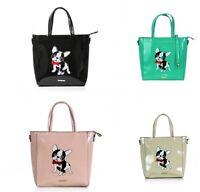 French Bulldog Patent Leather Shopper Tote HandBag Frenchie Dog Lovers Gift