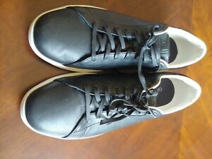 Cole Haan Mens GrandPro Tennis Black British Tan Size 11.5 M 42