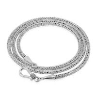 Solid 925 Sterling Silver Bali Tulang Naga SNAKE CHAIN NECKLACE  - 2.5mm
