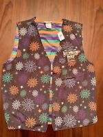 Disney Parks Mickey's Not So Scary Halloween Party Light Up Vest L/XL NWT