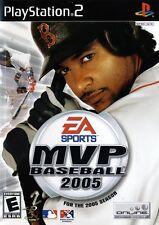 MVP Baseball 2005 - Playstation 2 Game Complete